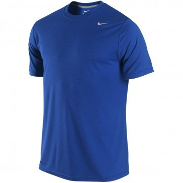 Nike legend poly top short sleeve american football for Maroon dri fit polo shirt