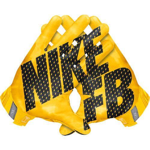 Nike Football Gloves Yellow: Nike Vapor Jet 3.0 (GF0485