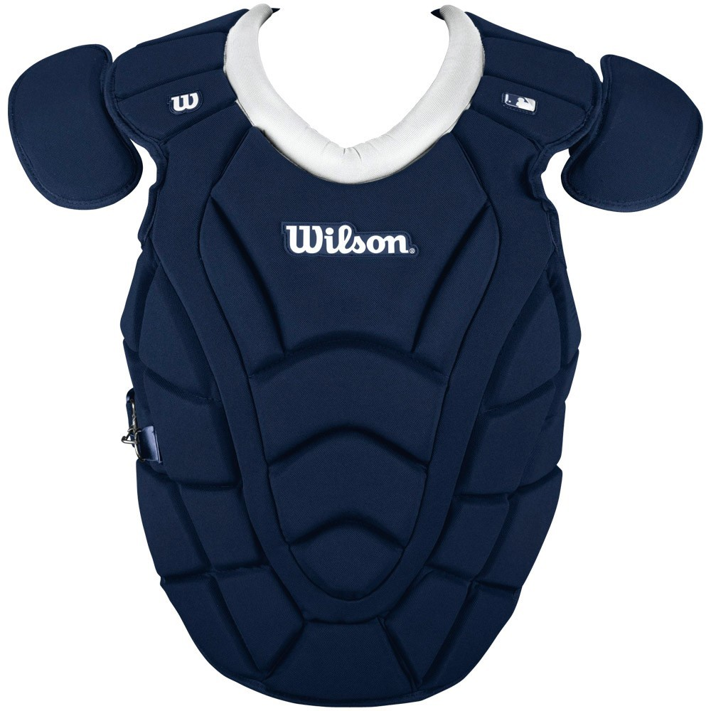 Baseball catcher chest protector