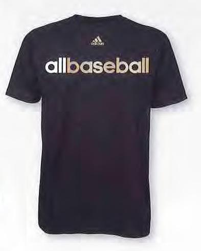 Adidas T Shirt All Baseball American Football Equipment