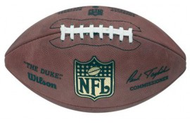 Wilson NFL F1100 The Duke Football - Forelle American Sports Equipment