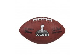 Wilson F1007ID48 Super Bowl 48 Game Football - Forelle American Sports Equipment