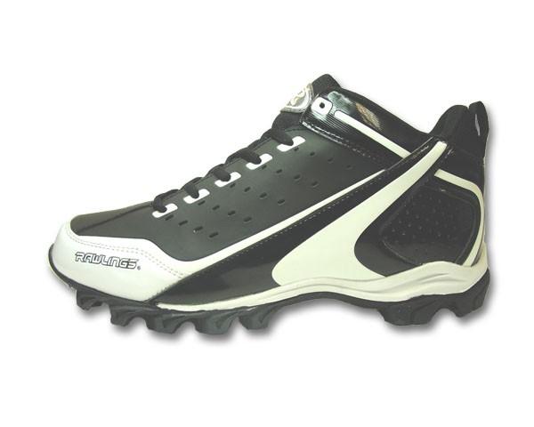 3ea68e675ac Rawlings Scramble Mid American Football Shoes - American Football ...