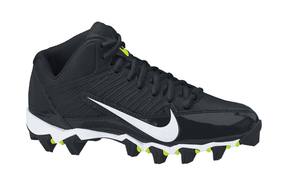 Nike Alpha Shark 3 4 Boys American Football Shoes