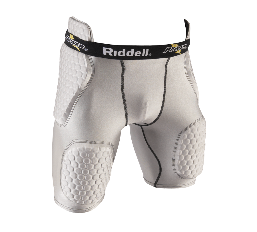 Riddell Power Protect /& Perform Adult Padded Football Girdle Black