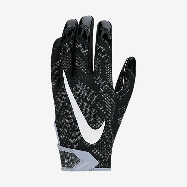 Nike Velcro Gloves: American Football Equipment