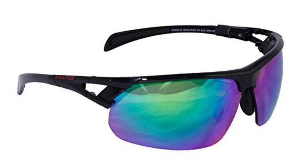 0972216f53e6 Rawlings 28 BLK GRN RV Sunglasses - Forelle American Sports Equipment