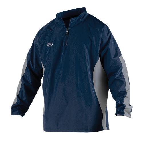 Rawlings BREAKR Quarter-Zipped Jacket - American Football Equipment Baseball Softball