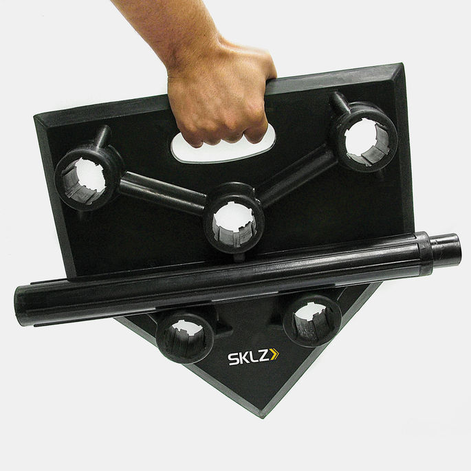Black SKLZ 5-Position Batting Training Tee