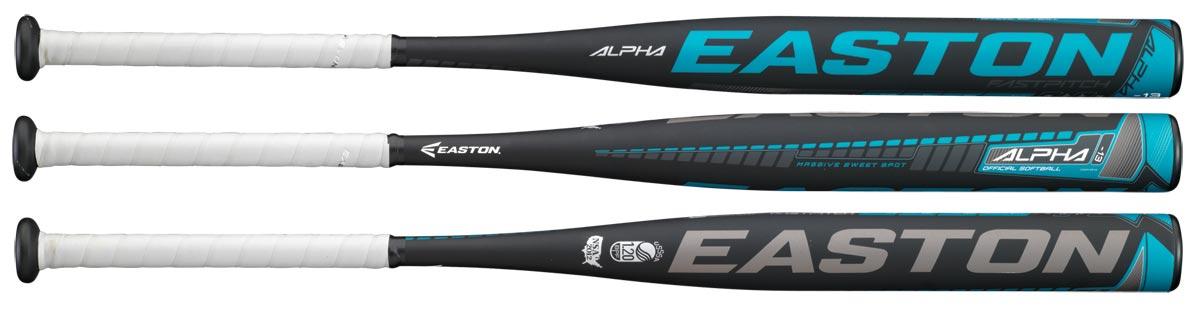 Easton FP13AL Alpha (-13) Fastpitch Softball Bat - American Football