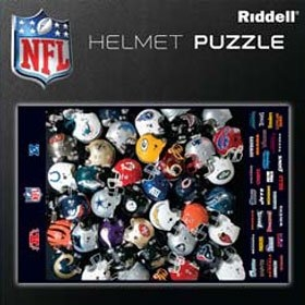 Riddell Helmet Puzzle American Football Equipment