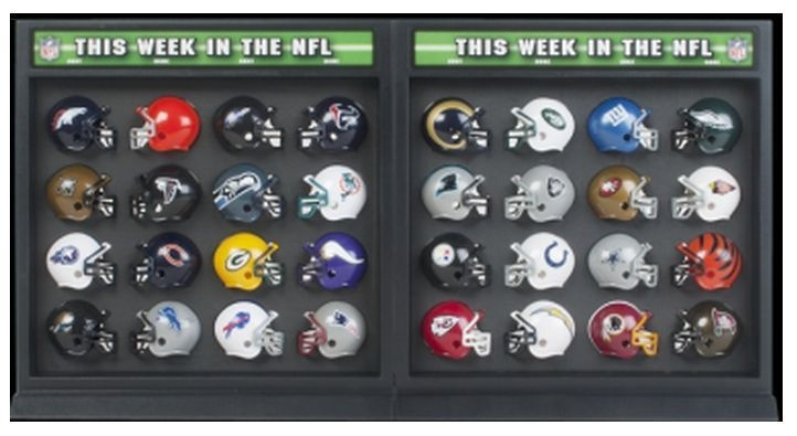 Riddell NFL MatchUp Display  American Football Equipment, Baseball, Softball