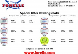 Special offer on Rawlings baseballs & softballs! - Forelle American Sports Equipment