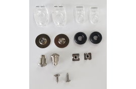Riddell LW S-Bar QR Install Hardware Kit (45701LW) - Forelle American Sports Equipment