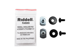 Riddell Shoulder Pad Acc. Hardware Kit (R48989) - Forelle American Sports Equipment