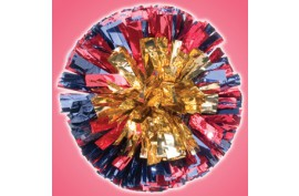 MBSH6S Metallic Poms - Forelle American Sports Equipment