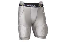 Riddell Padded Girdle Adult Grey (RGWPTE89) - Forelle American Sports Equipment