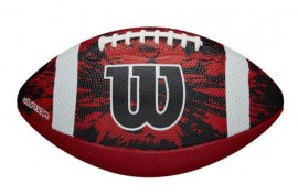 Wilson WTF1592XB Deep Threat Red Youth - Forelle American Sports Equipment