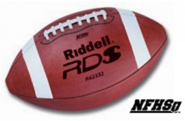 Riddell RDS Official Leather American Football Ball - Forelle American Sports Equipment