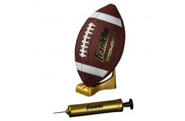 Franklin Grip-Rite Pump&Tee Football Set Junior - Forelle American Sports Equipment