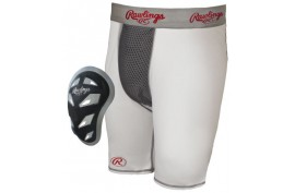 Rawlings Comp. Short with Cage Cup Youth - Forelle American Sports Equipment