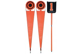 Pro Lineman Set Orange and Black (LS300, Adult) - Forelle American Sports Equipment