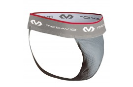 McDavid Performance HexMesh Supporter with FlexCup - Forelle American Sports Equipment