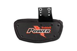Riddell PK Series Back Plate QB/WR (R48992) - Forelle American Sports Equipment