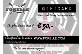Forelle Giftcard Euro 50,00 - Forelle American Sports Equipment