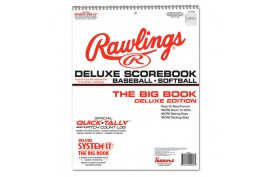 Rawlings Deluxe System-17 Baseball Scorebook (17SBDLX) - Forelle American Sports Equipment