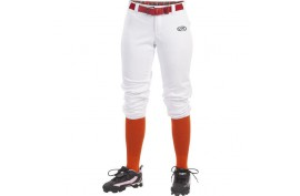 Rawlings WLNCHG Girls Belted Pant - Forelle American Sports Equipment