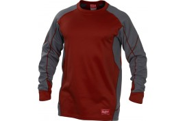 Rawlings YUDFP4 Dugout Pullover - Forelle American Sports Equipment
