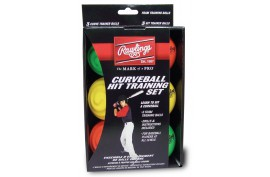 Rawlings Curve Ball Hit Training Set (6pk) - Forelle American Sports Equipment