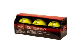 Rawlings Line-Drive Training Ball (3 pk) - Forelle American Sports Equipment