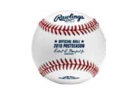 Rawlings Authentic 2018 MLB Postseason on-field baseball - Forelle American Sports Equipment