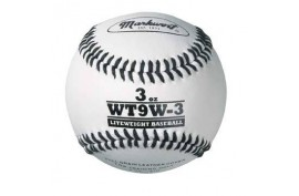 Markwort Weighted White Leather Baseball (WT9W) - Forelle American Sports Equipment