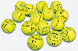 Jugs Perfect Pitch Softball (15PK) - Forelle American Sports Equipment