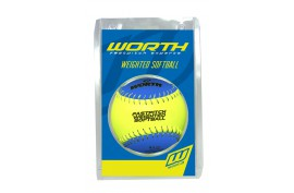 Worth Weighted Training Softball (8.5 oz.) - Forelle American Sports Equipment