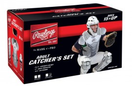 Rawlings VCSA Velo Catcher's Set Adult - Forelle American Sports Equipment