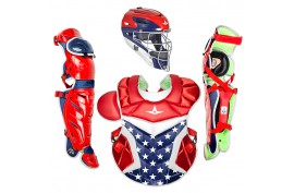 All Star CKPRO1X USA Pro Model 7 Axis Catcher's Kit - Forelle American Sports Equipment