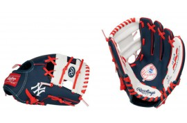 Rawlings MLB Logo Gloves LH 10 Inch - Forelle American Sports Equipment