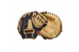 Wilson WBW100117335 2021 A2000 SuperSkin M2 33,5 Inch LH - Forelle American Sports Equipment