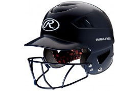 Rawlings RCFHFG Coolflo Helmet w/Mask - Forelle American Sports Equipment