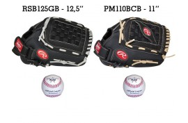 Baseball Set 5 | Adult 12,5'' & Youth 11'' Glove + 9'' Balls - Forelle American Sports Equipment