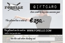 Forelle Giftcard Euro 250,00 - Forelle American Sports Equipment