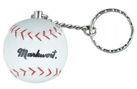Markwort Keychain Baseball Ball - Forelle American Sports Equipment