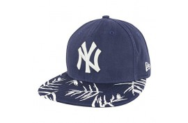 New Era Sandwash Visor Print Yankees - Forelle American Sports Equipment