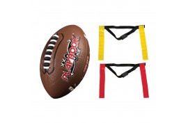 Franklin Mini Football Flag Football Kit - Forelle American Sports Equipment