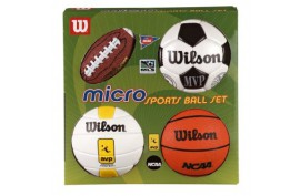 Wilson Micro Sports 4 Ball Kit - Forelle American Sports Equipment