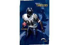 Poster 4057 Chargers - Tomlinson - Forelle American Sports Equipment